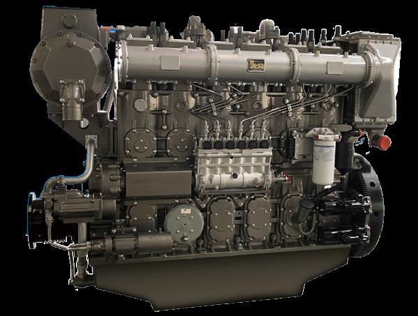 YC6CA/YC6CL/YC6C/YC6CD系列船舶动力
